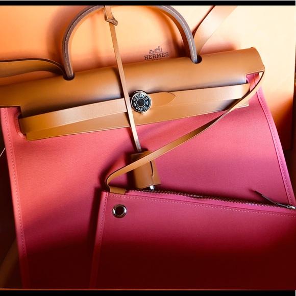 53c8d77bafa6 Hermes Handbags - ♥️Hermes♥️Herbag Zip ...